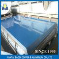 GBT standard 1050 1060 1100 sottili in lega di lamiera di alluminio con pellicola del pvc rivestite con