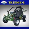 TK250GK-8 250cc go kart(eec go kart/ epa go kart)2 seat cheap go karts for sale