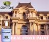 Crystone ISO9001 Multipurpose Easy Paste Architecture Spray Stone Coatings