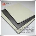 3mm extérieur acp panneau composite en aluminium, armoires de cuisine polymère panneau composite