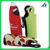 Neoprene insulated water bottle cooler
