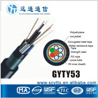 Power supply GYTY53 medical fiber optic cable