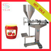 Vertical manual filling machine for paste