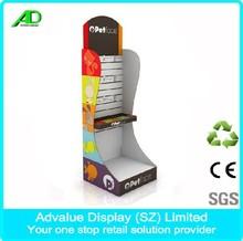 Customized retail cardboard folding display stand