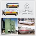 Soldadura con costura de soldadura / soldadura de Gas Natural de almacenamiento de tanques