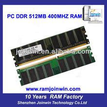 Bulk packing full compatible desktop ddr 512mb used memory ram