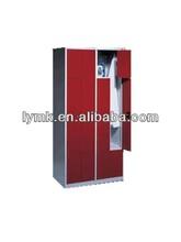 high quality Z shape steel red door locker