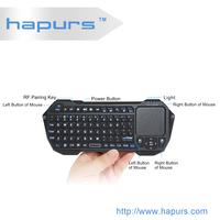 Hapurs wireless bluetooth video games keyboard for ipad mini ,Video Game Wireless Keyboard For PS3 Black