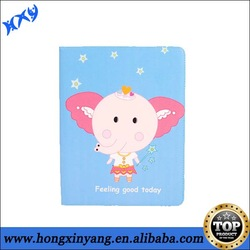 Lovely leather kids case for ipad Mini with smart standing function.