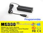 USB / 3 Tracks mini card reader magnetic head -msr90