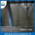 Bronte 8 mm alliage 1060 H14 prix de modèle de pointeur lumineux surface en aluminium plaque de diamant