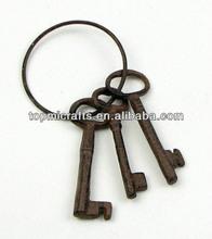 Cast Iron Key On Ring
