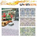 Decorativo rendas toalha de mesa, Elegante PVC de toalha de mesa fabricante