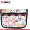 2014 Fashionable leather cosmetic bag travel make up bag wholesale