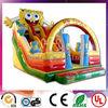 2014 HOT SALE commercial inflatable spongebob slide