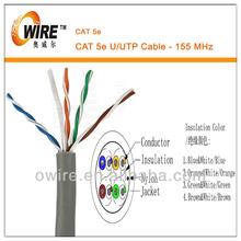 satellite cable cat 5e utp 8 cores copper cable
