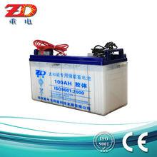 For solar street light OEM ODM Sealed AGM VRLA gel batteries 12v 100ah