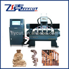 4 Axis Handrail Stair rail Wood Rod Wood Animal/Body Sculptures CNC Wood Carving Machine with Rotary