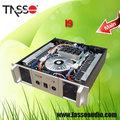 tasso fabricante profissional amplificador caixas de som