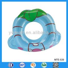 Novel design pvc inflatable swim ring for baby