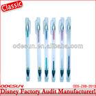 Disney factory audit manufacturer' color gel ink pen 148447