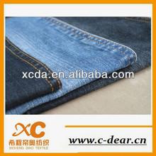 12OZ cotton stretch twill denim fabric with open end yarn
