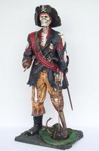 Carnival Decorations Fiberglass Pirate Figure
