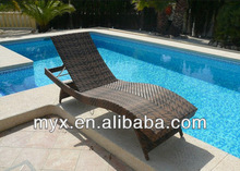 2014 All weather High quality fashion rattan furniture garden bench