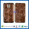 C&T Stand flip leather cover for samsung galaxy s5 case