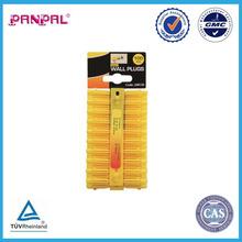 100pc 5mm yellow Wall Plug