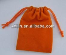 2014 New coming custom small velvet bags for gifts