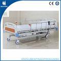 Bt-ae012 de hospital de atención, en la uci de plástico carpeta de cama cama de hospital