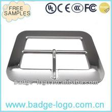 wholesale customised clip belt buckles in zinc alloy