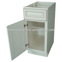 Antique white solid wood kitchen cabinet
