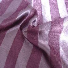 100%ployester stripe jacquard fashion pile design fringes curtain