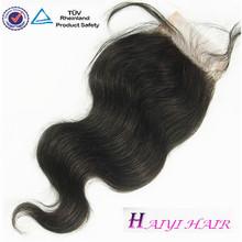 Wholesale Cheap Body Wave Virgin Brazilian Human Hair Lace Top Closure Piece