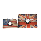 With Package totu design dynamic folding stand leather case for ipad mini