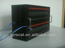 Professional USB 2.0 32 card slots Industrial GSM Modem Pool Q2406