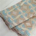 c043 conduzindo a forma bonita e design de alta qualidade de algodão pesado tecido do laço da flor menina vestido africano swiss lace voile