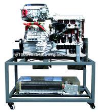 Automotive teaching equipment for anatomic running platform of the Prius hybrid system