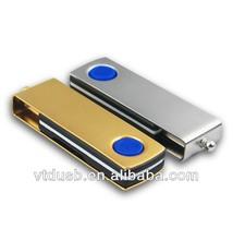 Metal rotate usb flash drive, Promotion gift USB pen drive, Encryption antivirus