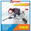 2-way motorcycle alarm system CFMC08 universal 12v alarm system with remote engine start