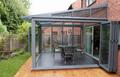 Painel de vidro moldura de alumínio à prova d ' água garagem portas e janelas de alumínio