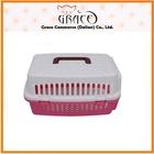 Grace Pet New product OEM 2014 cat dog Plastic carrier travel box transportation