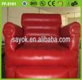 üst satış ucuz kırmızı şişme kanepe