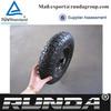 natural rubber steel wheel barrow wheels 400-8