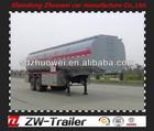 Shandong Zhuowei oil semi trailer/tanker truck/van trailer