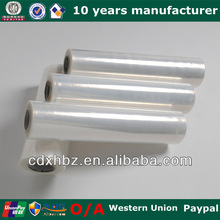 Clear LLDPE Cling Handle Stretch Film