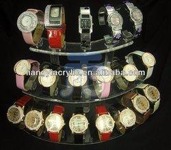 Acrylic Retail fixtures Watches Display Organizer