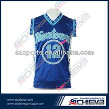 OEM professional sublimation basketball uniform factory